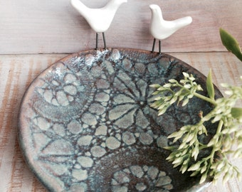 Little Birds Ceramic Dish