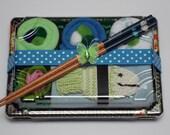 Baby Boy Sushi Gift Set - Baby Washcloths - Baby Shower Gift - Green Fish Bath Scrubby