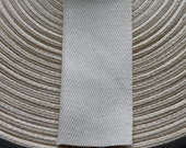 """Cotton Twill 1.5"""" Tape 10 yards- clothing tags, rug binding, gift wrapping, sewing projects"""