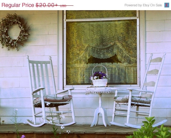 On sale front porch photograph cozy antique by for Front porch furniture sale