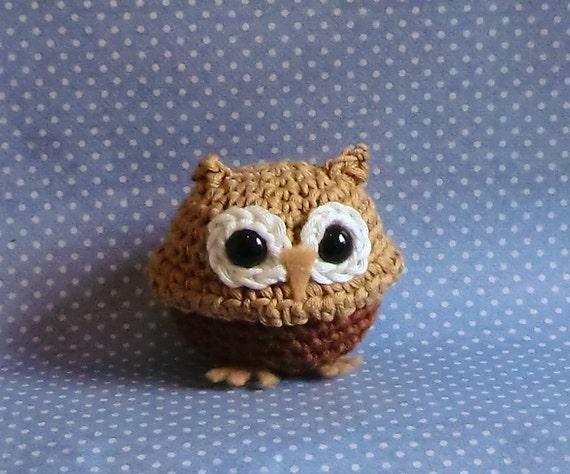 Mini owl amigurumi PDF crochet pattern by AmigurumiBarmy ...