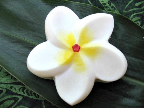 Hawaiian Wedding Gift Ideas: PLUMERIA SOAP. Gift From Hawaii. Wedding Bridal Party Favor