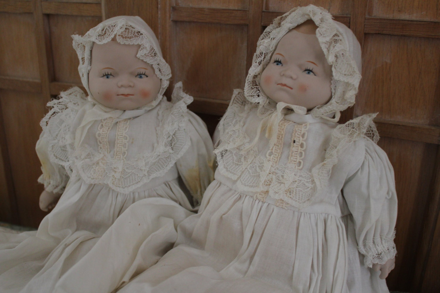 Shackman Baby Dolls 2 Made in Japan Vintage Doll