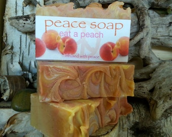 eat a peach peace soap