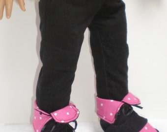 BLACK CORDUROY SKINNY Jeans 18 inch doll clothes