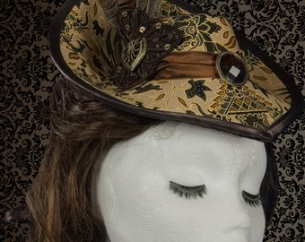 Victorian Inspired hat Millinery Pattern Pdf Full sized print at Home instantly