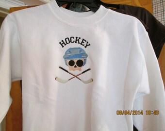 Boy or Girl Hockey Sweatshirt-Personalized