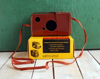 Kodak Field Case for Brownie Fun Saver or Escort 8, Unused Camera Case in Original Box.