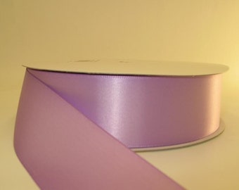 Lilac Ribbon double faced satin ribbon 1.5 inches, Wedding, Special Occasion, Crafts, DIY bridal 1 yard