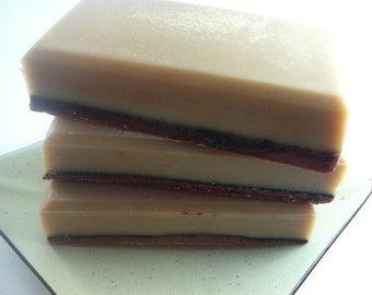 Chocolate Raspberry Beer Soap - Vegan - Handmade Soap