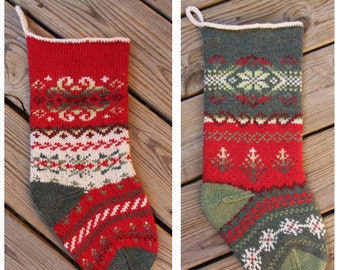 Christmas Stocking Pattern PDF Set