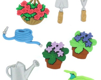 Gardening Butons 8pc