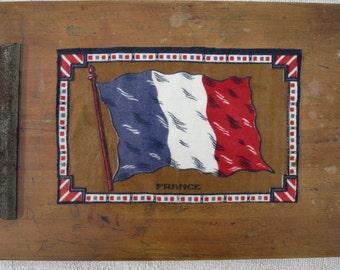 Vintage Felt French Patch