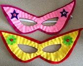 Super Hero Masks - Felt