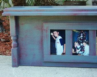Photo Display Mantle Shelf, Country Farmhouse Style Headboard, Window Cornice Entry Display