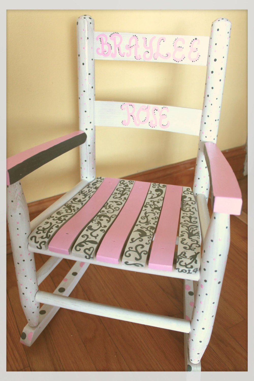Child Rocking Chair Kid Rocking Chair Small Rocker Pink and