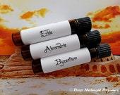 Ancient Kingdoms PERFUME Oil Sample Set, exotic, incense, resins, sample set of three perfume vials