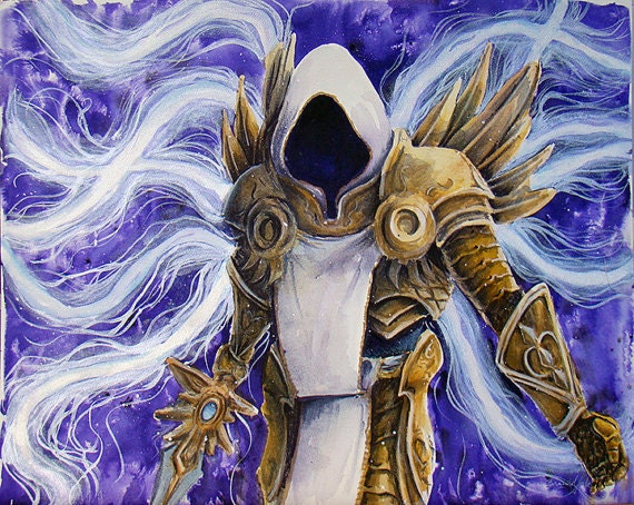 I Am Justice Itself Print Diablo 3 Blizzard Tyrael