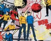Star Trek Comic Book Infinity Circle Fabric Scarf