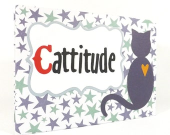Cat Envelope Mini Album with 50 percent to animal charity