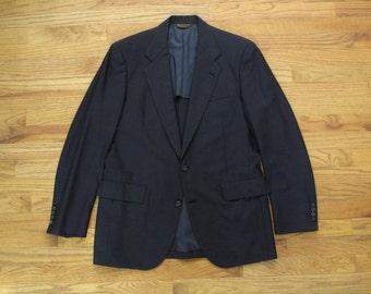 mens vintage navy Southwick blazer