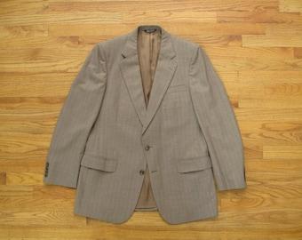 vintage striped Burberry blazer