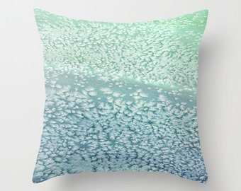 Decorative Pillow Cover - Salt Water Painting - Throw Pillow Cushion - Home Decor