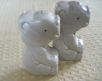 Koala Bears Salt and Pepper Shakers - Vintage, Collectible