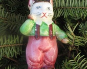 Vintage china CAT salt shaker JAPAN