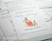 Beatrix Potter Peter Rabbit Bookplates
