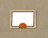 Basketball Party Food Tent Labels Place Cards - Printable DIY - INSTANT DOWNLOAD