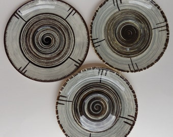 3 Vintage Stetson RCA Whirlpool Saucers, Replacement Saucers, Orphan Saucer,