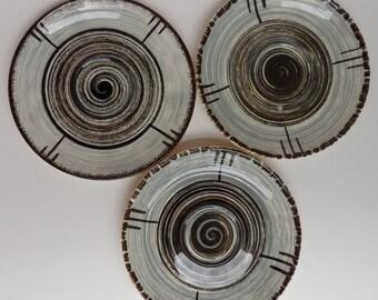 3 Vintage Stetson RCA Whirlpool Saucers
