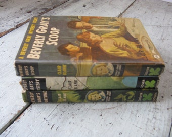 beverly gray books set of 3 beverly gray mysteries mid century fiction hardcover