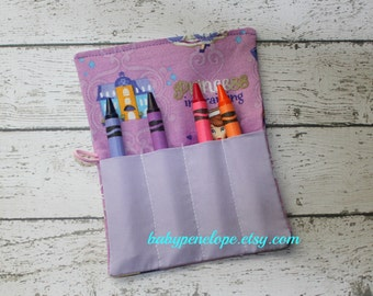 Crayon Roll - Set of Five - Princess Sofia the First