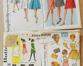 Lot of 1960s Vintage Patterns / Precut/ 60s Lot 7