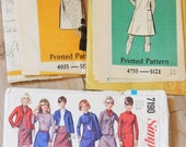 Lot of 1960s Vintage Patterns / Precut/ 60s Lot 10