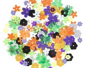 Halloween Flower Sequins by Doodlebug