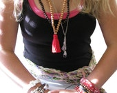 Red Jasper Bracelet, Good Luck Bracelet, Talisman, Red Stone, Dove of Peace