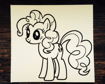 Pinkie Pie My Little Pony Sticker