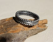 Triple ring - sterling silver