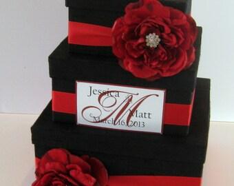 Wedding Card Box Silk Card Box Custom Made
