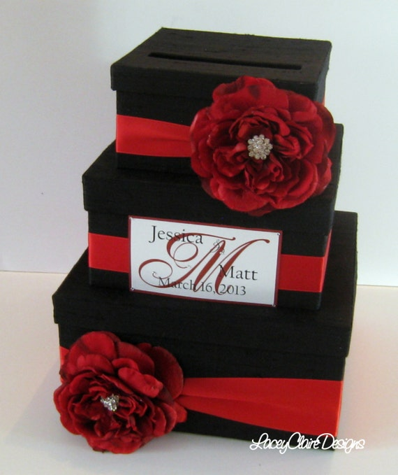 Wedding Card Box Silk Card Box Custom Made