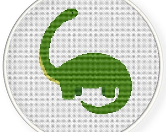 INSTANT DOWNLOAD,Free shipping,Counted Cross stitch pattern,Cross-Stitch PDF, dinosaur ,zxxc0528