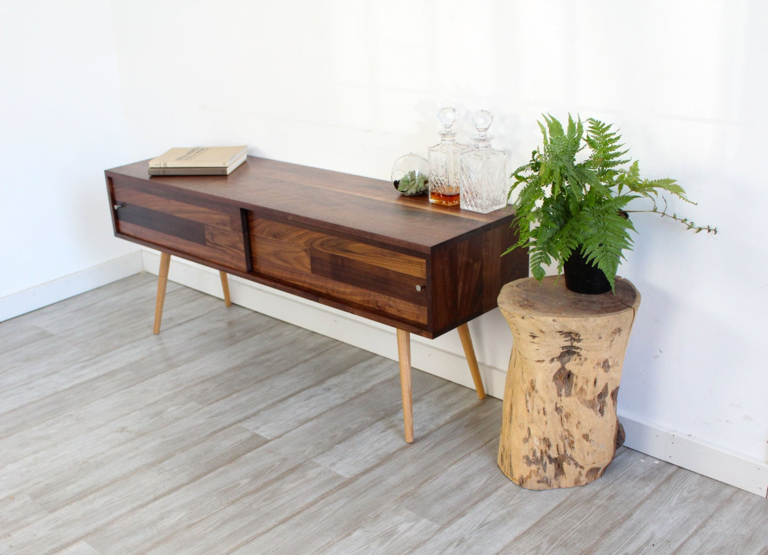 Mid Century Console Table Latest With