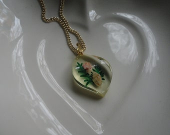 Lovely Lucite Necklace