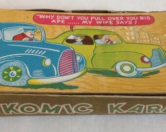 Box of Unused Komic Kards Lot of 31