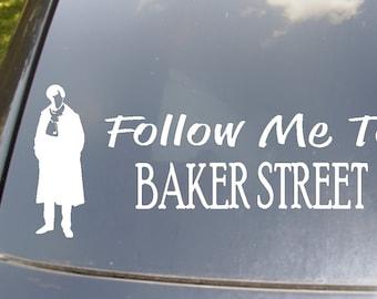 Follow Me To Baker Street Car Decal
