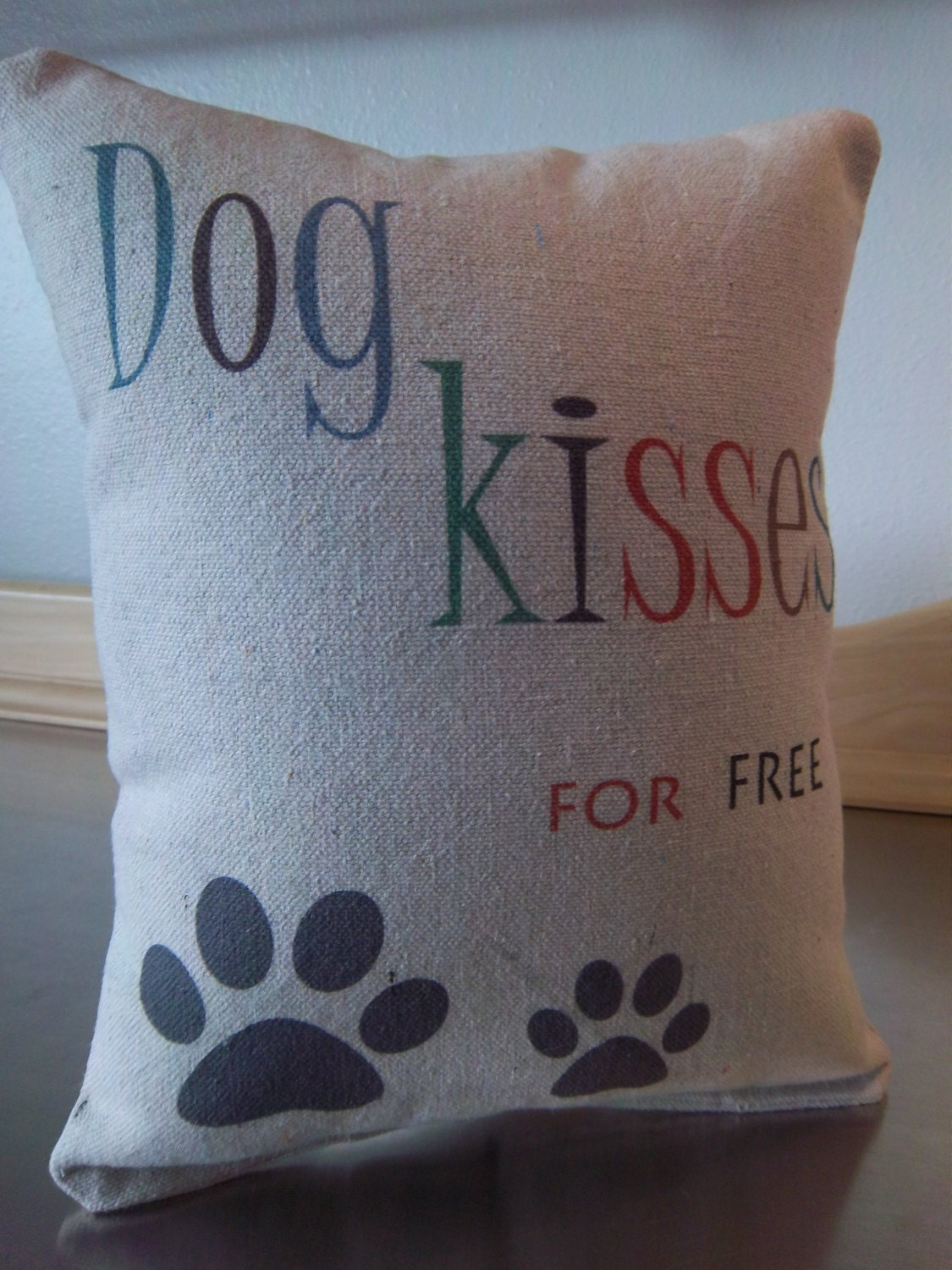 Dog Pillow Throw Pillow Dog Mom Gift Funny By
