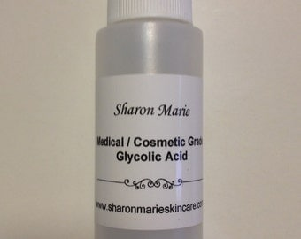 20% Glycolic Acid 1+1/3oz. Medical grade/ANTI: Acne, Blackheads, Fine lines,scars, enlarged pores,age spots.